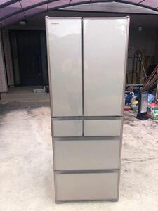 R-XG5100G 冷凍冷蔵庫 HITACHI 冷蔵庫 2018年製造 日立