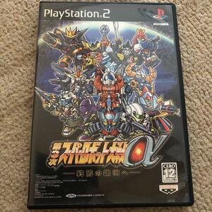 PS2 スーパーロボット大戦a