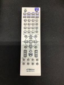 P【016984】VICTOR ビクター オーディオ リモコン RM-SNXTC40-S  赤外線動作確認・清掃済
