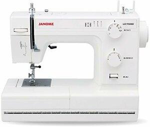 JANOME ジャノメ レザークラフト対応 パワフル 電動ミシン LC7500 レザー針 レザー押さえ 標準装備 LC-7500