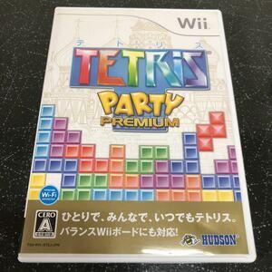 テトリス パーティープレミアム Wii 【2415】