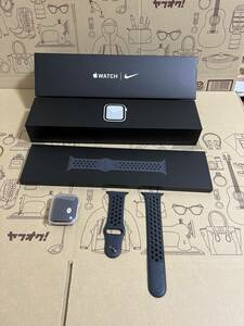 * body beautiful goods * Apple Watch Nike Series 5 GPS 44mm model silver aluminium case * free shipping * v accessory lack of less v * extra attaching *