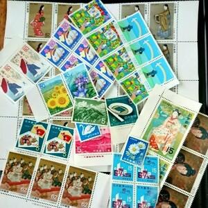趣味の切手 コレクション 2,300円分 同梱の場合170円分おまけ