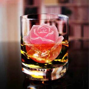 薔薇の形製氷皿 製氷器 シリコーン バラ型 アイス型 インスタ映