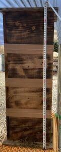 日本蜜蜂入り巣箱No.1 蜂蜜採取もでき来年の分蜂捕獲用 検索ワード ニホンミツバチ 分蜂 蜜蝋 ミツロウ 養蜂 蜂蜜 ハチミツ