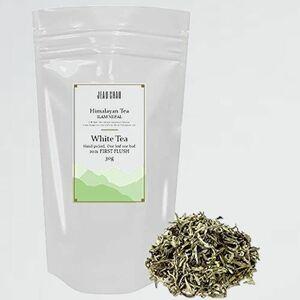 新品 目玉 最高級品 ホワイトティ- F-7X 有機栽培【JEAU CHAU】 白茶 White Tea (Silver Tips) 30g 茶葉 オ-ガニック 無添加 無農薬