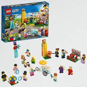 未使用 新品 シティ レゴ(LEGO) R-H2 男の子 車 ミニフィグセット - 楽しいお祭り 60234 ブロック おもちゃ