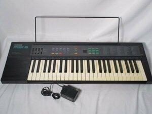 【低音の音量小さい・ジャンク扱い】YAMAHA ヤマハ PSR-6 電子ピアノ 電子キーボード Y160-M259