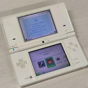 任天堂 NINTENDO DSi ホワイト ソフト付 イナズマイレブン