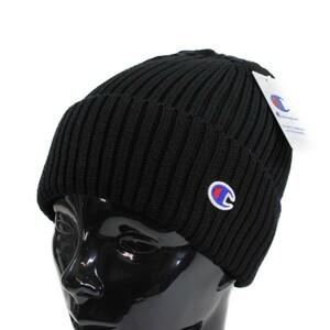 Champion チャンピオン ニット帽 ダブルワッチ ブラック ニットキャップ 帽子 メンズ レディース アウトドア 超暖 ニット帽
