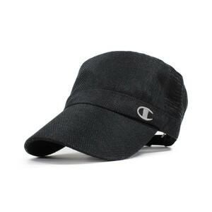 Champion チャンピオン シートワークキャップ ブラック 帽子 ジョギング アウトドア 野球帽 春夏 メンズ レディース