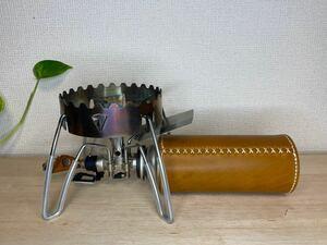 【本革】本革ガス缶カバー 本革CB缶カバー snowpeak SOTO ST310 330 シングルバーナー