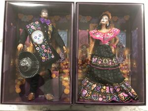 日本未発売 Barbie Dia De Muertos doll set