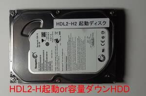 ★ IO DATA アイオーデータ HDL2-H起動用HDD 250GB (機器の起動用 OR HDDの容量ダウン用)
