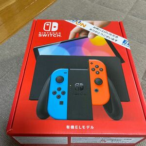Nintendo Switch 有機ELモデル ネオンブルー ネオンレッド