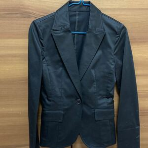 テーラードジャケット ブラックスーツセット