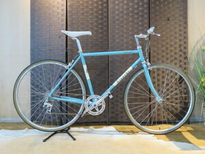 ■BIANCHI VIA BRERA ビアンキ ビア ブレラ 8速 チェレステ クロスバイク ヴィアブレラ 自転車 札幌発