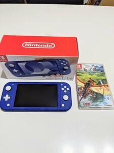 Nintendo Switch ニンテンドースイッチ本体 モンスターハンターストーリーズ2 ガラスフィルム ケース
