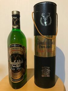 シングルモルト スコッチウイスキー グレンフィディック 8年 750ml 旧ボトル 古酒 バルヴェニー 山崎 マッカラン