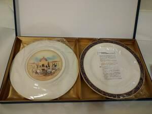 【未使用】 ホテル ミラコスタ フェアリーテールウェディング ノリタケ ケーキプレート 2枚セット
