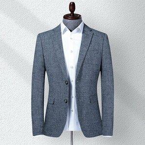 美品ビジネス対応 スリム 2ボタン シンプル 秋 春 パーティー 宴会 テーラードジャケット メンズ ビジネス対応 スタイリッシュ スリム 2ボ