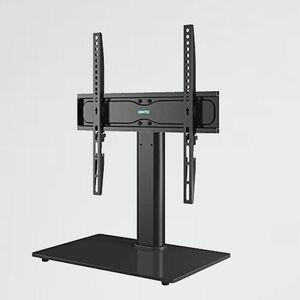 新品 未使用 テレビスタンド 1homefurnit T-4J 耐荷重40kg ケ-ブル管理システム付きブラック日本語組立て説明書付き テレビ台 TV