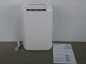 中古 アイリスオーヤマ 衣類乾燥除湿機 KIJD-H202 2019年 取扱説明書付 デシカント方式 室内干し