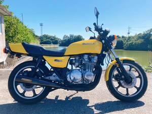 美車 バイク 旧車 絶版車 人気車 カワサキ kawasaki Z750GP カスタムベース