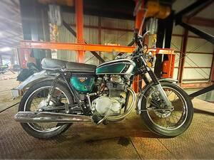美車 バイク 旧車 絶版車 人気車! 希少車 HONDA CB350 セニア