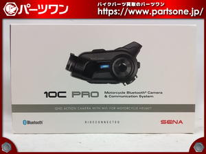 * secondhand goods *SENA 10C PRO action camera built-in Bluetooth intercom *[S] packing *46085