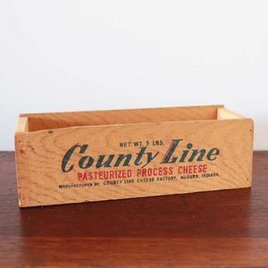 小物入れ 木箱 アンティーク ヴィンテージ インダストリアル 収納 チーズボックス 木製 おしゃれ 雑貨 ブルックリン アメリカ 卓上