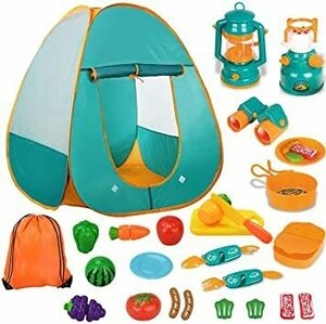 特別価格★オレンジ S キッズテント キャンプテント 子供用テント おもちゃ 男の子 女の子 知育玩具 おままごと キャンプセット 折りた