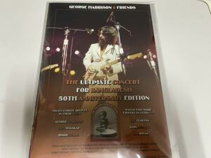 CONCERT FOR BANGLADESH 50周年版 George Harrison Eric Clapton Bob Dylan Ringo Starr DVD ビートルズ Beatles ジョージハリスン