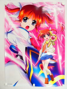 Ca9/ Magical Girl Lyrical Nanoha Blu-ray BOX anime ito buy privilege height block .. is .. under ..B2 clear poster