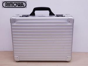 ○ Rimowa Remoisa Atache Case Немецкий алюминиевый бизнес [Трудно для интерьера]