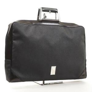 dunhill レザーブリーフケース ブラウン エンボス加工 フランス製 メンズ ビジネスバッグ ダンヒル 管理953