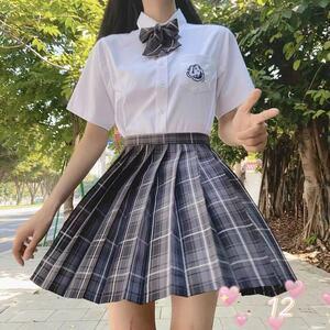 セーラー服 女子高生 制服 コスプレJK ハロウィン スカート 1 2