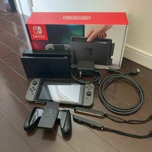 スイッチ本体 2017年製造 Nintendo Switch ニンテンドースイッチ ニンテンドースイッチ本体