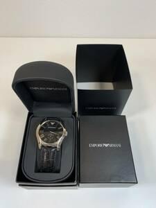 【中古品】EMPORIO ARMANI エンポリオアルマーニ 腕時計 AR0643 (電池切れ、動作未確認) (00500109)