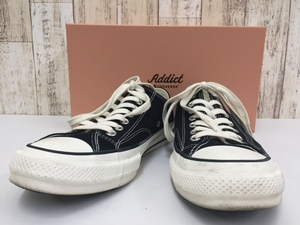 149B CONVERSE  Addict CHUCK TAYLOR CANVAS OX 1CL690  コンバース  アデイクト 【中古】