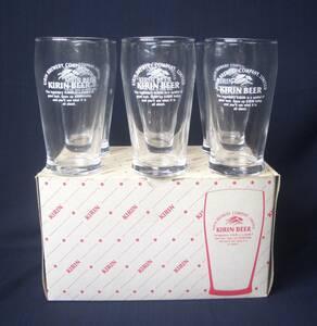 昭和 レトロ ★ キリンビール KIRIN BEER ミニ グラス コップ 6個セット★kb821