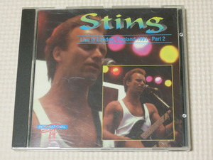 STING Live in London, England 1991-Part2 スティング ライブ・イン・ロンドン1991 パートⅡ CD