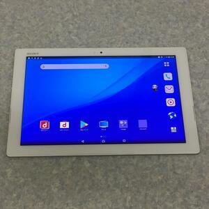 ★ジャンク★SONY ソニー Xperia Z4 Tablet SO-05G docomo〇 ホワイト タブレット 【42AY0118】