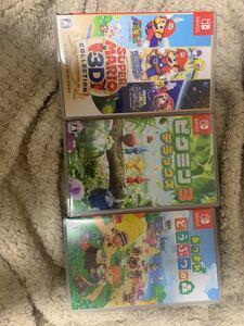 Nintendo Switch ソフト 3点セット 個別売りにも対応 あつ森 スーパーマリオ3dコレクション ピクミン