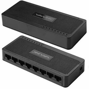 新品WAVLINK スイッチングハブ/ネットワークハブ/LANハブ 100BASE-TX 8ポート 10/100MbOETL