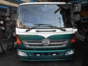 Yahoo! control number 20051 cabin Hino Ranger standard width bed less 2 pedal AT Heisei era 25 year TKG-FC9JJAA
