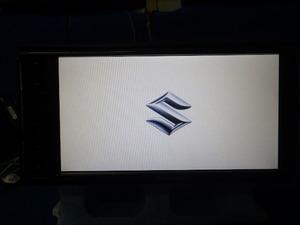 スズキ 純正オプション ディスプレイ付きオーディオ PVH-9300DVSZS DVD再生 Bluetooth 傷ありジャンク (二)