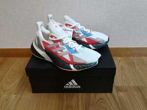 送料無料 adidas X9000L4 Boost レディース 25.0cm アディダス ランニングシューズ ジョギング マラソン シューズ