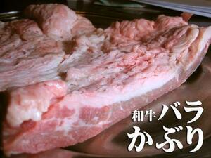 1円【1数】煮込みに/黒毛和牛バラかぶり1kg★4129焼肉訳業務