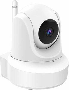 50 2021 WiFi強化 防犯カメラ ネットワークカメラ 室内 ペットカメラ 監視カメラ 300万画素 自動追跡 顔認識 1080P 360°首振り